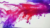 Ink in water — Stock Photo