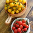 Red and yellow cherry tomatoes — Stock Photo #30965719