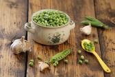 Zelený hrášek — Stock fotografie