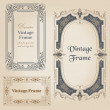 Vintage frames and design elements - with place for your text - — Vetor de Stock  #11511833