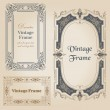 Vintage frames and design elements - with place for your text - — Stock vektor #11511833