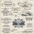 Vector Set: Calligraphic Design Elements and Page Decoration, Vi — Vecteur #17048343