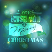 Christmas Card - Calligraphic Elements — Vetor de Stock