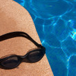 Dive Goggles at Swimming Pool - 1 — Stock Photo