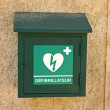 Defibrillator Box — Stock Photo
