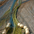 Fishing Nets Calpe - 2 — Stock Photo