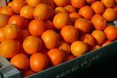 Oranges at the market — Stock Photo