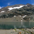 Mountain Lake Panorama — Stock Photo
