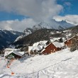 Stock Photo: Alps in winter - 3