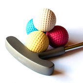 Mini Golf Material - 03 — Stock Photo