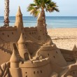 Castle Sand Sculpture — Foto Stock