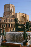 Kathedraal van valencia - 1 — Stockfoto