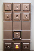 Elevator Keypad — Stock Photo