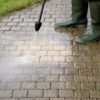 High Pressure Cleaning - 1 — Stock Photo