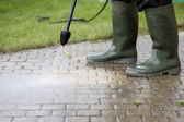 High Pressure Cleaning - 2 — Stock Photo