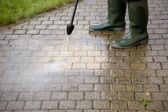High Pressure Cleaning - 1 — Stok fotoğraf
