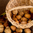Walnuts Basket - 01 — Stock Photo