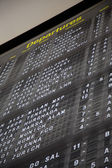 Terminal Info Board - 05 — Stock Photo