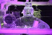 Ice Sculpture Bruges 2013 - 13 — Stock Photo