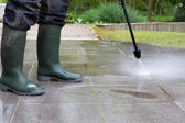 High Pressure Cleaning - 06 — Stock Photo