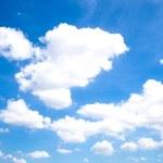 Постер, плакат: Clouds and sky