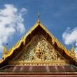 Stock Photo: Thai temple roof.