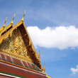 Thai temple roof. — Stock Photo