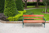 Chair of the bench. — Stock Photo