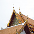 Thai temple roof. - Stock Photo