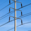 High voltage towers. - Stock Photo