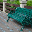 Chair of the bench in the park. — Foto de Stock