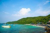 Strand von koh larn. — Stockfoto