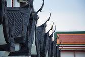 タイの寺院を屋根します。. — ストック写真