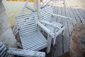 Mesas y sillas. — Foto de Stock