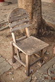Old wooden chair. — Stock Photo