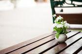 Vase of flowers. — Stock Photo