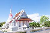 White large temple. — Stock Photo