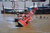 Measured water level buoy. — Stock Photo