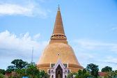 Large golden pagoda. — Stock Photo