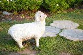 Estatua de ovejas. — Foto de Stock