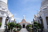 White temple Thailand. — Stock fotografie