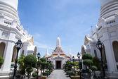 White temple Thailand. — Stockfoto