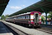 Passenger trains. — Stock Photo