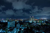 Bangkok city at night. — Stock Photo