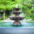 Stock Photo: Fountain in garden.