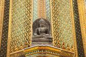 Buddha temple wall. — Stock Photo