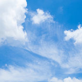 Clouds and blue sky. — Stock Photo
