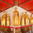 Buddha statue in the temple. — Stock Photo