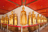 Statua di buddha nel tempio. — Foto Stock