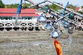 Light fishing equipment. — Stock Photo